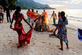 Seychellois dancing