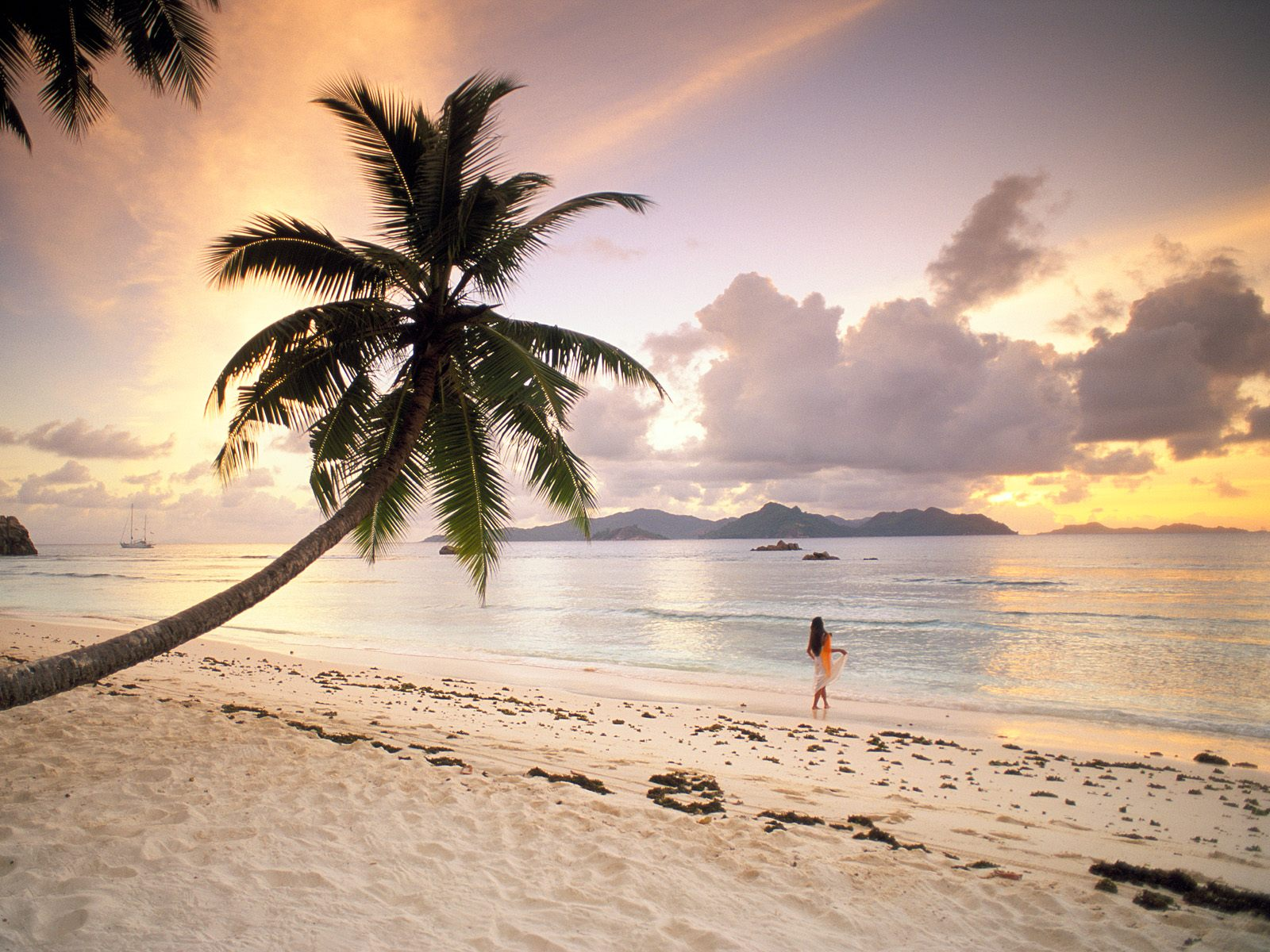 La Digue Beach