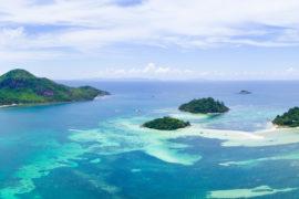 Ste Anne Marine park Seychelles