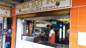 gloria fast food